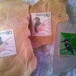 未使用の切手(貼付済み)を剥がさずに簡単に再利用する方法備忘録